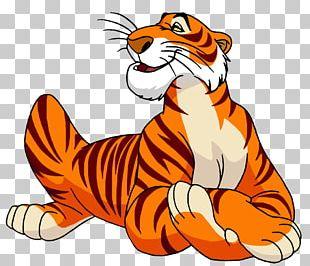 Shere Khan The Jungle Book Bagheera Tiger Cartoon PNG