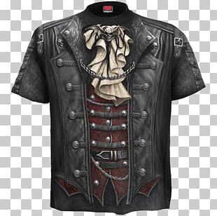 T-shirt Clothing Top Goth Subculture PNG