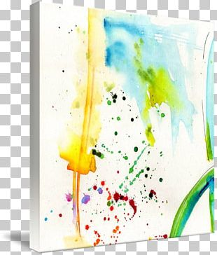 Watercolor Painting Work Of Art PNG