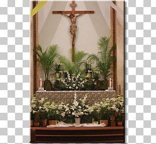 Floral Design Altar Window Shrine PNG