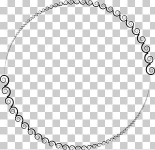 Circle Spiral Geometry Drawing PNG