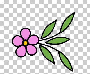 Floral Design Text Cut Flowers PNG