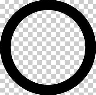 Black Circle Computer Icons Black Square PNG