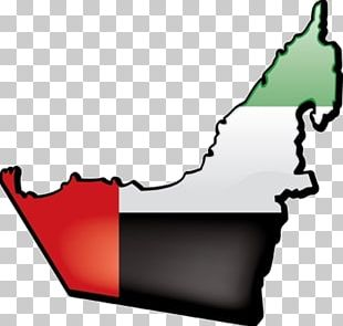 Flag Of The United Arab Emirates Map PNG