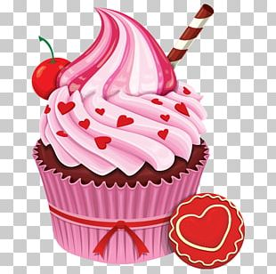 Cupcake Baker Frosting & Icing Muffin Poster PNG