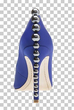 Shoe Designer Cobalt Blue PNG