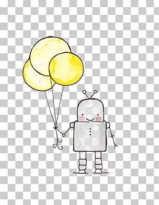 Robot Drawing Printmaking Art PNG