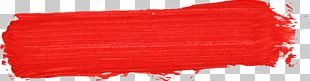 Red Paintbrush PNG
