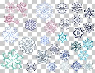 Snowflake Template Pattern PNG