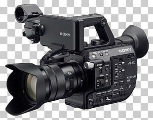 Super 35 4K Resolution XDCAM Camcorder Camera PNG