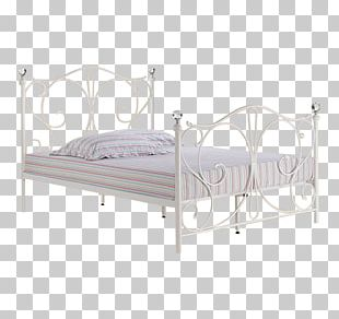 Bed Frame Mattress Furniture Metal PNG
