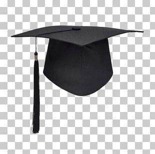 Black Graduation Hat PNG