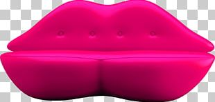 Red Couch Lip PNG