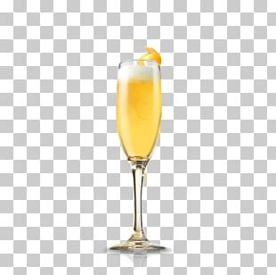 Bellini Champagne Cocktail Wine PNG