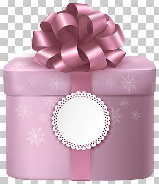 Gift Pink Box PNG