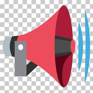 Emoji Loudspeaker Computer Icons Megaphone PNG