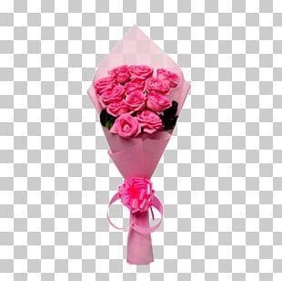 Flower Bouquet Rose Pink Cut Flowers PNG