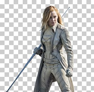Sara Lance Black Canary Rip Hunter Green Arrow Commander Steel PNG