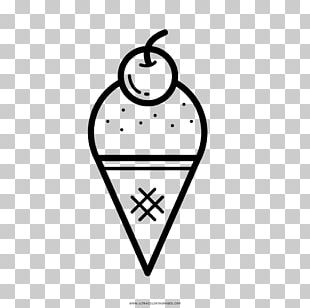 Ice Cream Cones Drawing Coloring Book Cucurucho PNG