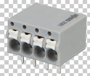 Electronic Component Terminal WAGO Kontakttechnik Grey Electronics PNG