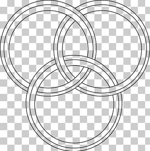 Line Art Circle Material Point PNG