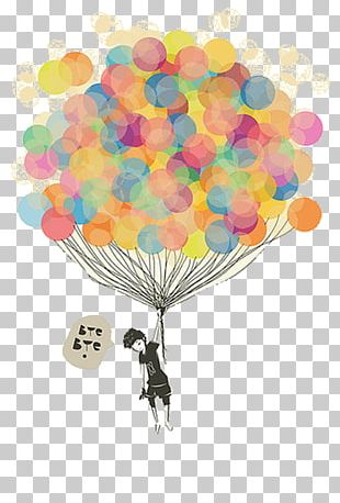 Balloon Drawing Stock Photography Illustration PNG