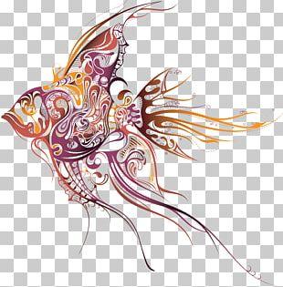 Tattoo Artist Fish Drawing PNG
