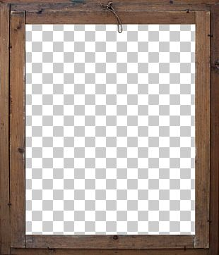 Window Wood Stain Frame Square PNG