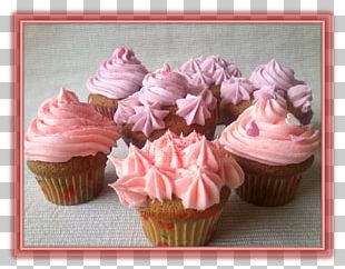 Cupcake Frosting & Icing Muffin Buttercream Meringue PNG