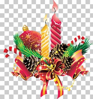 Christmas Ornament Candle Holiday PNG