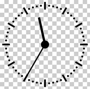 Digital Clock 12-hour Clock Clock Face PNG