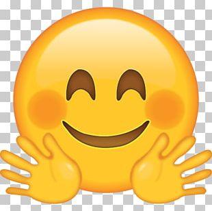 Emoji Hug Smiley Emoticon PNG