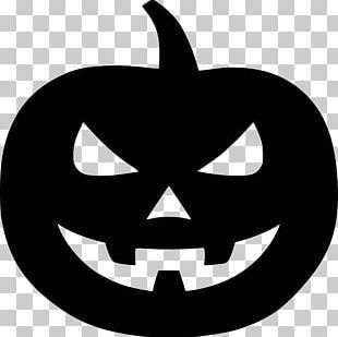 Jack-o'-lantern Halloween Pumpkin Jack Skellington Silhouette PNG