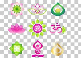 Logo Zen Yoga Meditation PNG