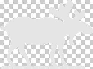 Reindeer Blue Moose Antler PNG