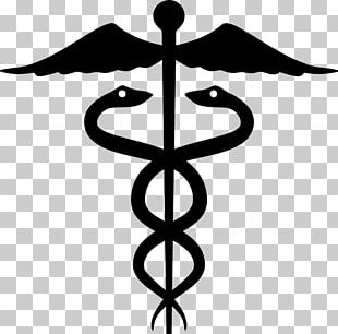 Staff Of Hermes Rod Of Asclepius Caduceus As A Symbol Of Medicine PNG