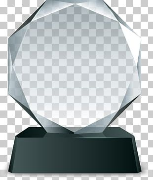 Trophy Crystal Euclidean PNG