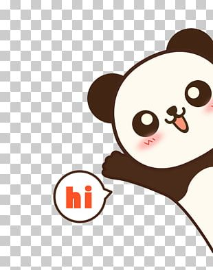IPhone 7 Plus Giant Panda Bear Cartoon Film PNG