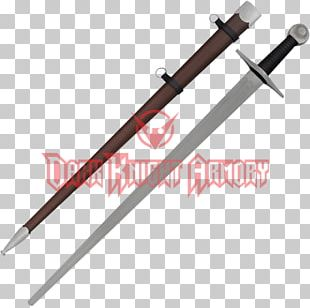 Knightly Sword Middle Ages Weapon Classification Of Swords PNG