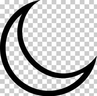 Crescent Lunar Phase Moon PNG