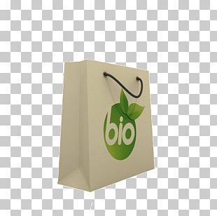 Reusable Shopping Bag Green Paper PNG