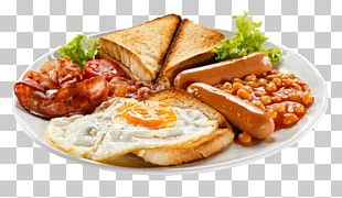 Fish And Chips Full Breakfast Baked Beans Toast PNG