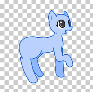 Whiskers Pony Cat PNG