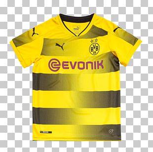 Borussia Dortmund T-shirt 2017–18 Bundesliga Jersey Kit PNG