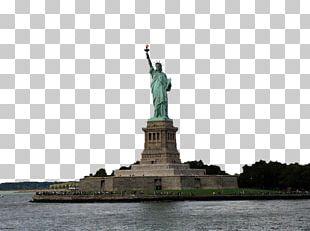 Statue Of Liberty Battery Park Ellis Island Upper New York Bay New York Harbor PNG