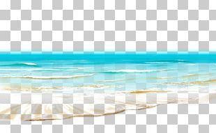 Shore Blue Wave Sea Sky PNG