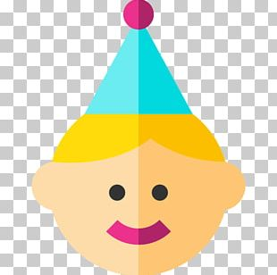 Birthday Computer Icons Party Hat PNG