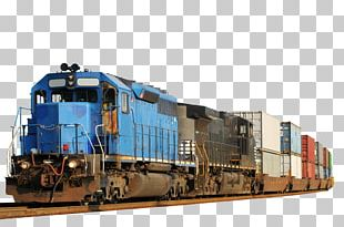 Rail Transport Train Intermodal Freight Transport Locomotive PNG