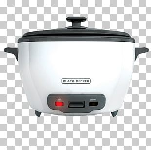 Rice Cookers Food Steamers Black & Decker Rice Cooker Slow Cookers PNG
