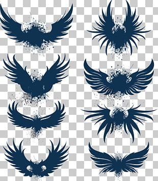 Bird Wing Eagle Logo PNG